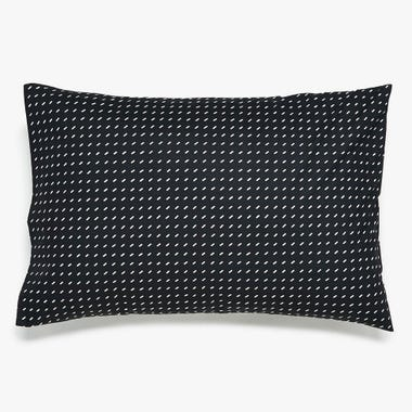 Stitch Black + White Pillowcase Set