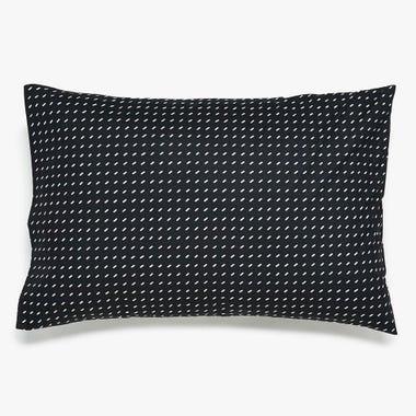 Stitch Black + White Pillowcase Set