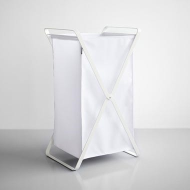 Tower White Laundry Hamper