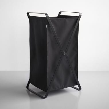 Tower Black Laundry Hamper