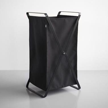 Tower Black Laundry Hamper