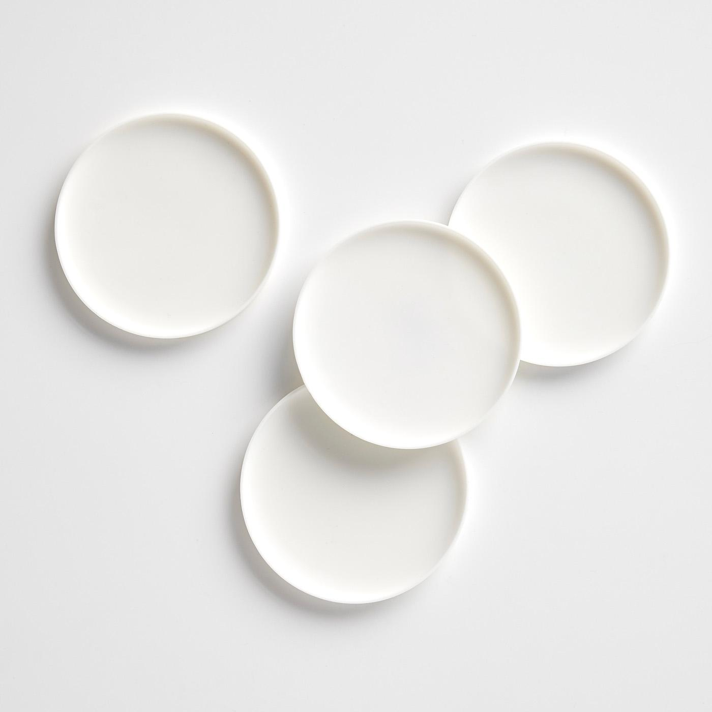 Silicone White Coaster