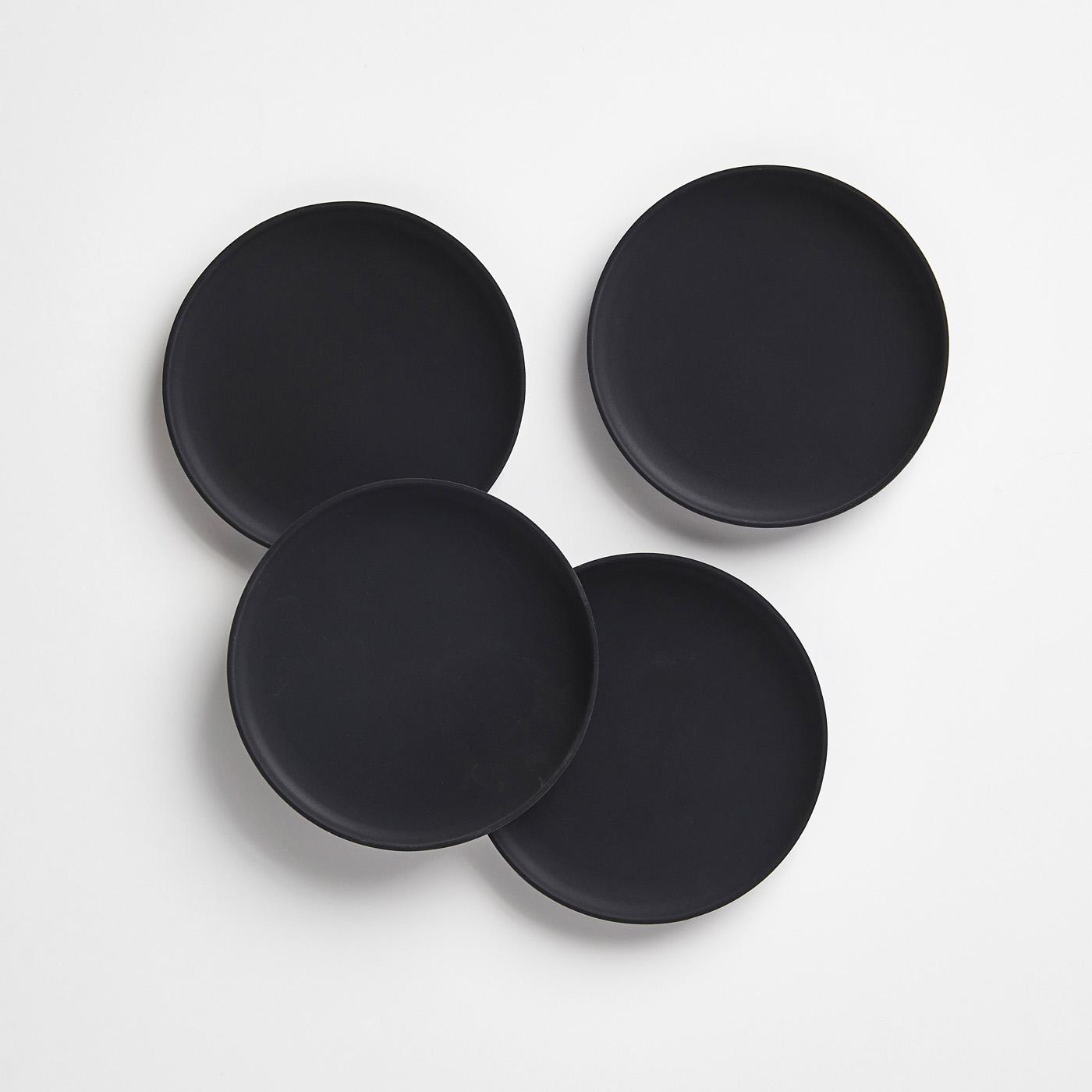 Silicone Black Coaster