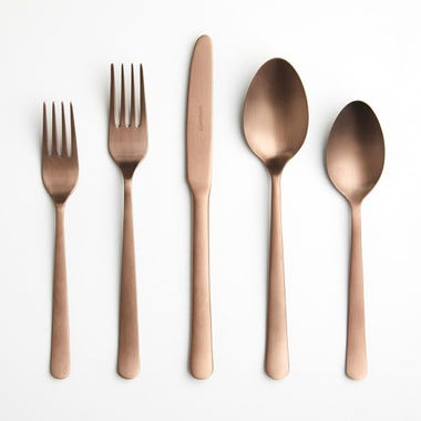 Galvin Copper 5pc Flatware Set