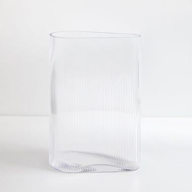 "Mist Clear Vase 11.5"" H"