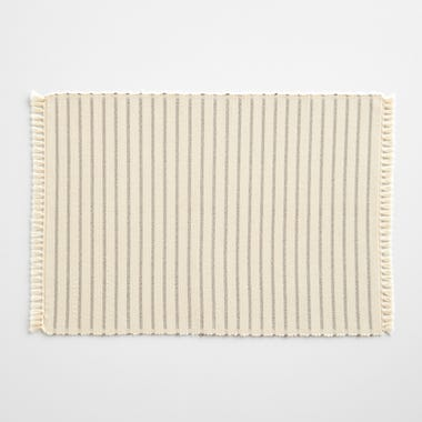 Ripple Ivory Placemat