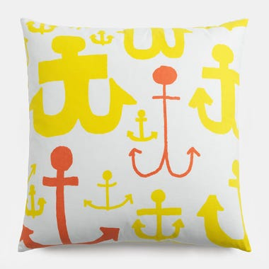 Ahoy_Yellow_Throw_Pillow_22x22