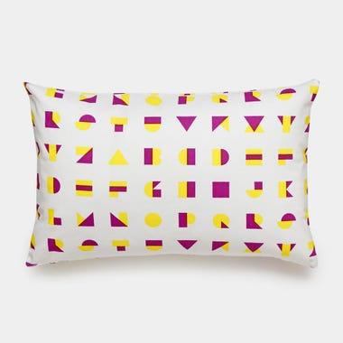 Alphablocks_Yellow_Throw_Pillow_12x18