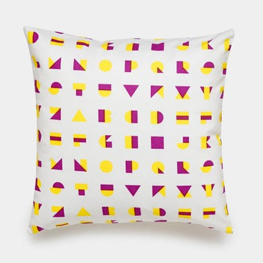 Alphablocks_Yellow_Throw_Pillow_17x17