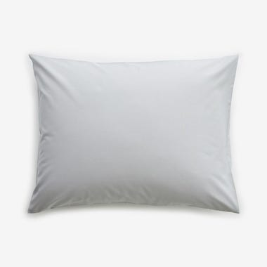 Solid Gray Pillowcase Standard Set of 2