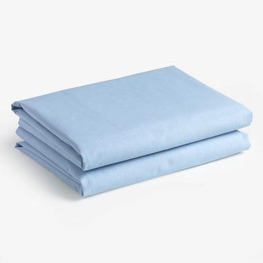 Chambray Sky Sheets Full