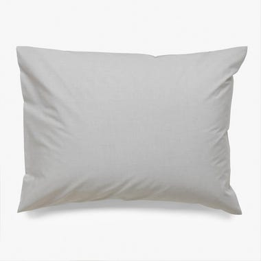 Chambray Stone Pillowcase Standard Set of 2
