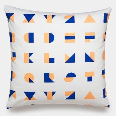 Big_Alphablocks_Peach_Throw_Pillow_22x22