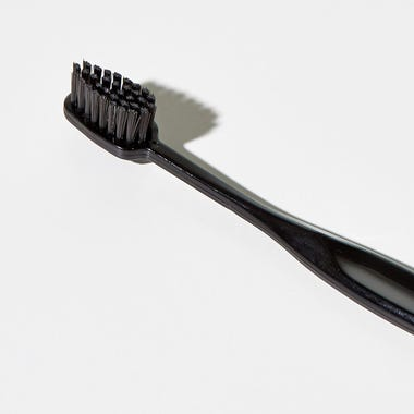 Binchotan Charcoal Black Toothbrush