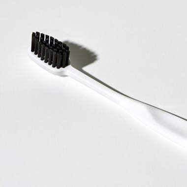 Binchotan Charcoal White Soft Toothbrush