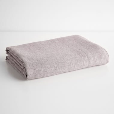 Burgundy Chambray Sheets