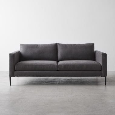 Irving Graphite Apartment Sofa 76""