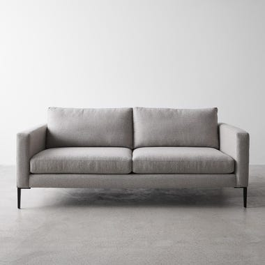 Irving Gray Apartment Sofa 76""