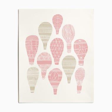 Float Pink Print