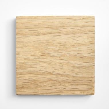 White Oak Varnished Wood Swatch