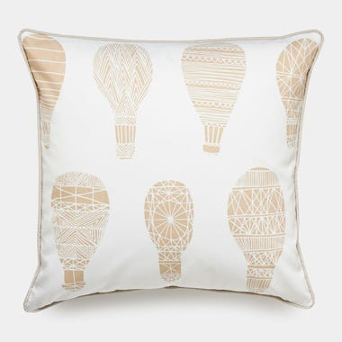 Float_Khaki_Throw_Pillow_18x18