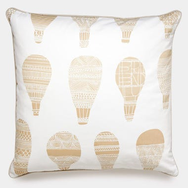 Float_Khaki_Throw_Pillow_22x22
