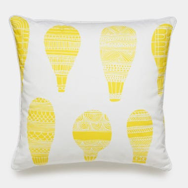 Float_Yellow_Throw_Pillow_18x18
