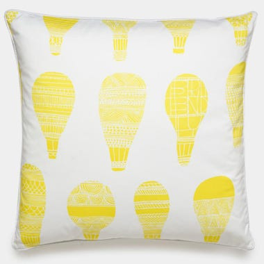 Float_Yellow_Throw_Pillow_22x22