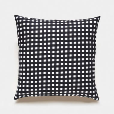 Gingham_Graphite_Throw_Pillow_17x17