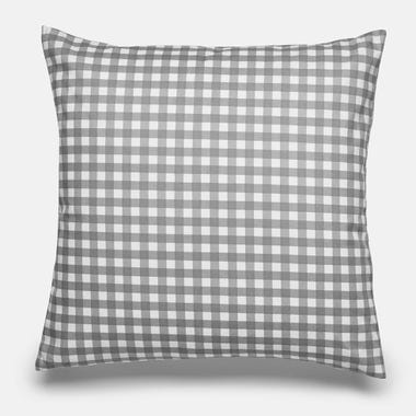 Gingham_Gray_Throw_Pillow_17x17