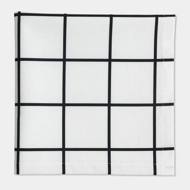 Grid_Black_Napkin
