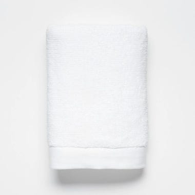 Logan White Hand Towel