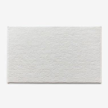 Division White Bath Mat