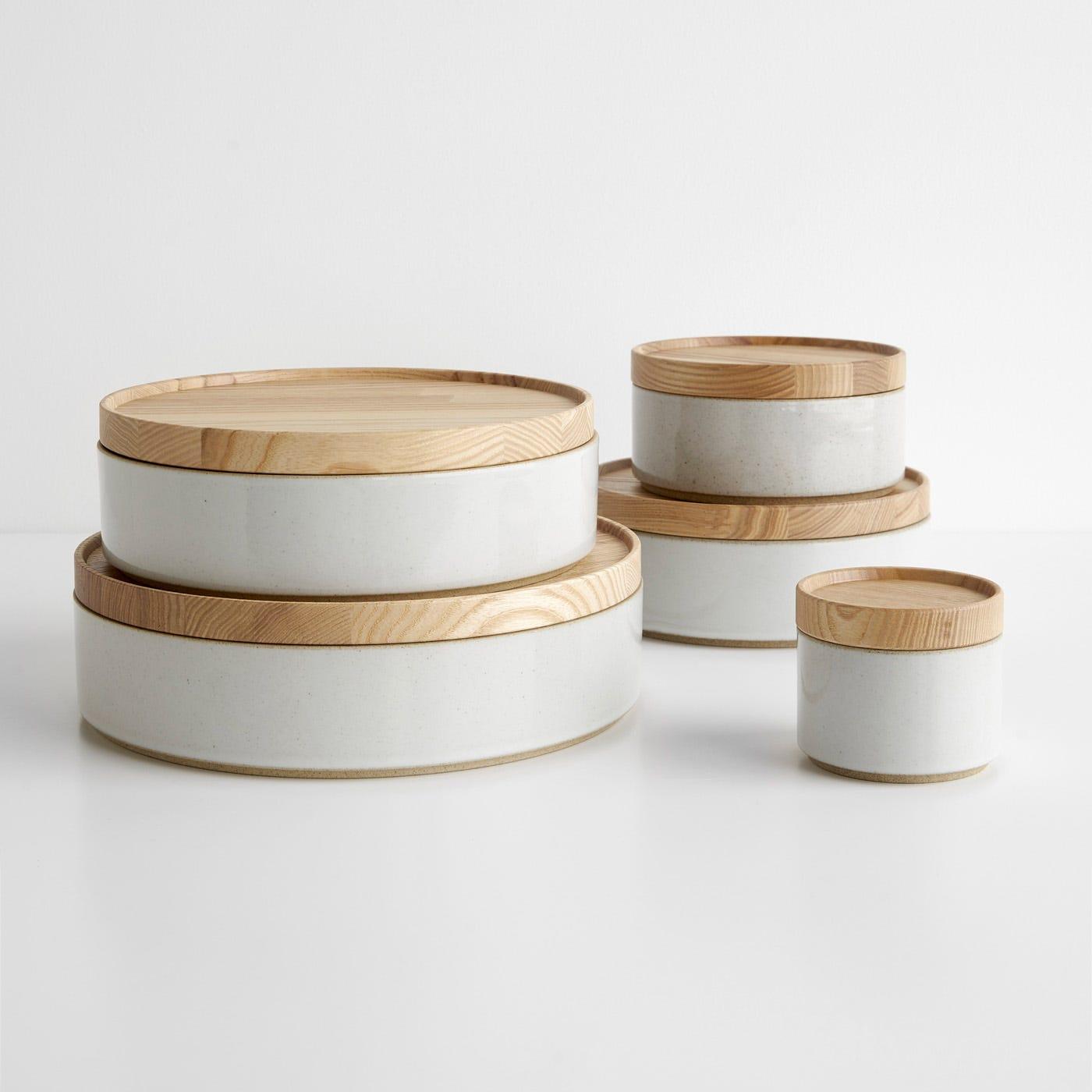Hasami Gloss Gray Bowls