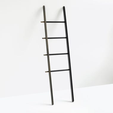Hub Black and Walnut Ladder
