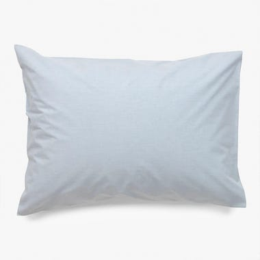 Linen Powder Blue Pillowcase Set