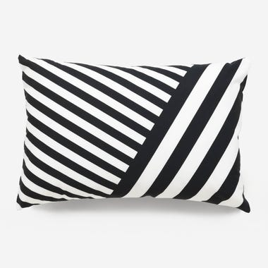 Milano_Black_Throw_Pillow_12x18