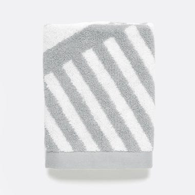 Milano Gray Washcloth