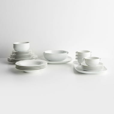Moon White Dinnerware Collection