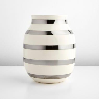 Omaggio Silver Medium Vase