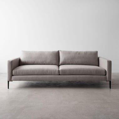 Irving Gray Sofa 90""