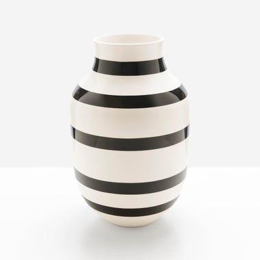 Omaggio Black Large Vase