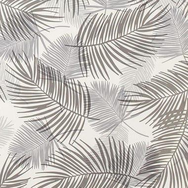 Palm Gray Wallpaper Swatch