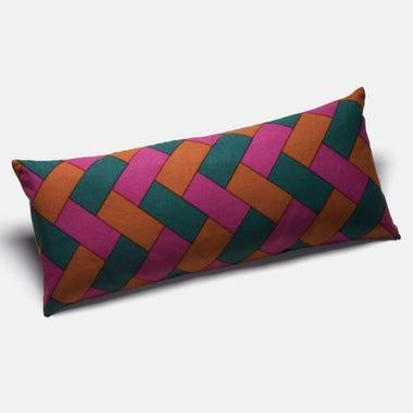 Rope_Fuchsia_Throw_Pillow_12x28