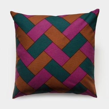 Rope_Fuchsia_Throw_Pillow_17x17