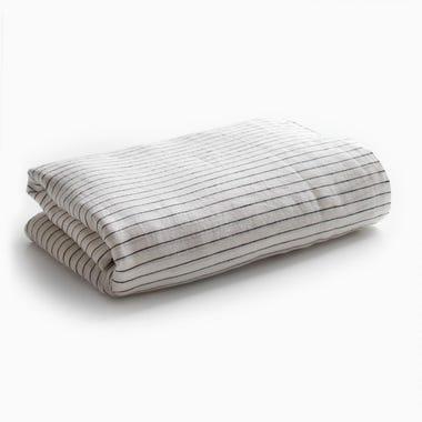 Saville Stripe Flat Sheet King