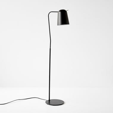 Canal Black Floor Lamp