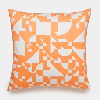 Shapes_Cantaloupe_Throw_Pillow_17x17