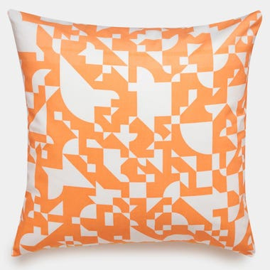 Shapes_Cantaloupe_Throw_Pillow_22x22