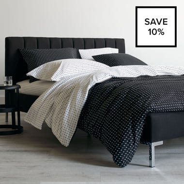 Stitch Black + White Bedding Bundle